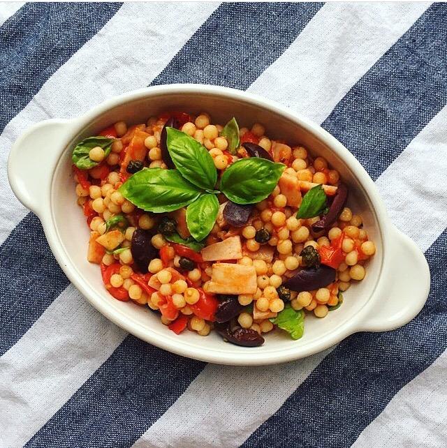 pearl-couscous-salad