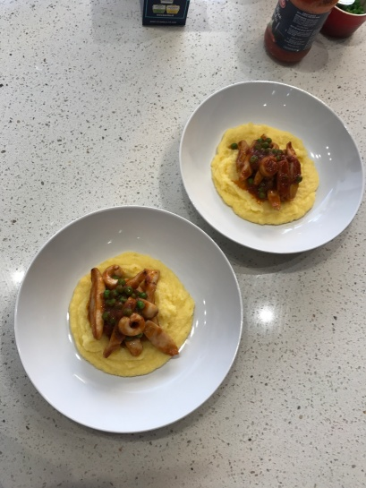 Cuttlefish with Polenta