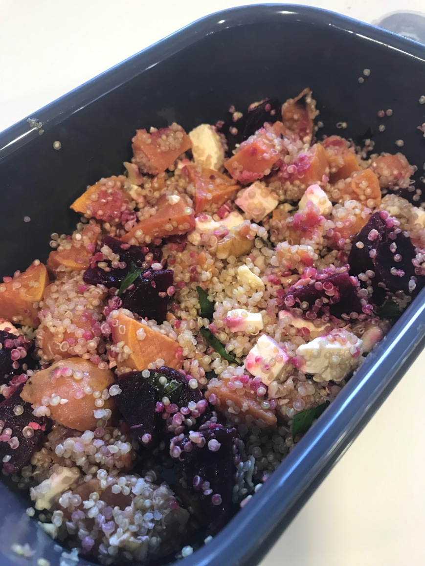 quinoa sweet potato salad